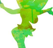 Tinkerbell inspired silhouette Sticker