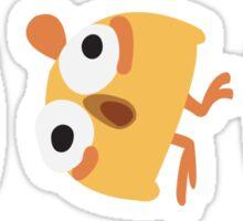 Triple Chick Sticker