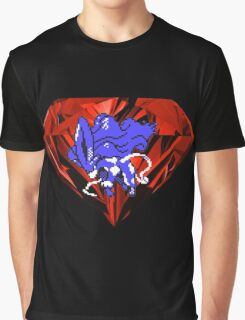 Blood Crystal Suicune Graphic T-Shirt