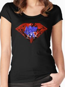 Blood Crystal Suicune Women's Fitted Scoop T-Shirt