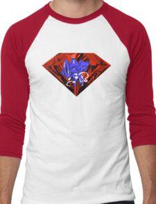 Blood Crystal Suicune Men's Baseball ¾ T-Shirt