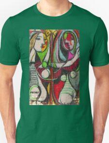 picasso graffiti # 4 Unisex T-Shirt