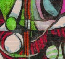 picasso graffiti # 4 Sticker