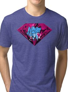 Shiny Blood Crystal Suicune Tri-blend T-Shirt