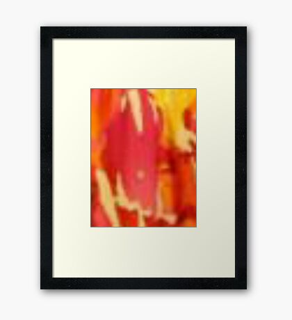 Multi-Colored Texture Framed Print