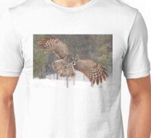 Awesome! - Great Grey Owl Unisex T-Shirt