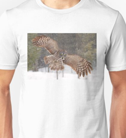 Awesome! - Great Grey Owl T-Shirt