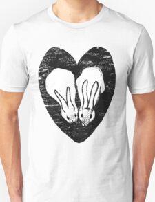 Huddling Rabbits T-Shirt
