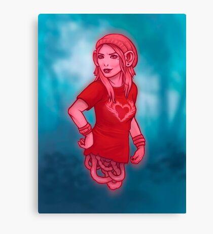 Izabel from Saga Graphic Novel Canvas Print