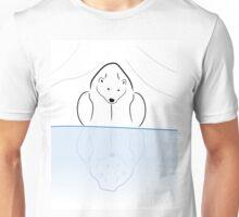 Polar Bear Reflection  Unisex T-Shirt