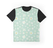 Daisy on mint Graphic T-Shirt