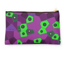 Purple Green Fusion Studio Pouch