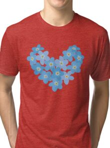 Forget me not Tri-blend T-Shirt
