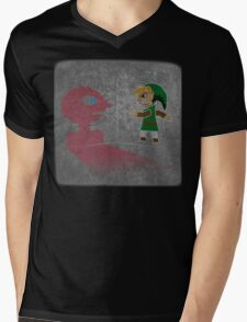 Prismo Between Link Mens V-Neck T-Shirt
