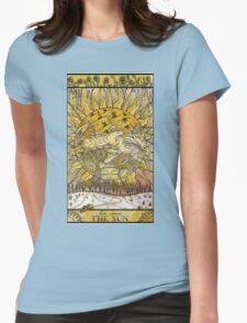 Sun, Sun, Sun Womens Fitted T-Shirt