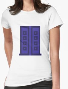 River's Diary - Pixelated Womens Fitted T-Shirt