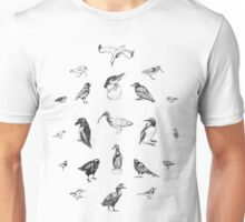Manx Fauna - (British) Birds Unisex T-Shirt