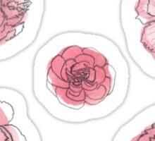 Pink Carnation - January Sticker