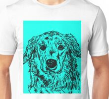 Golden Retriever Portrait Unisex T-Shirt