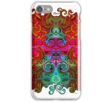 The Purfled Acid Pole iPhone Case/Skin