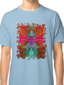 The Purfled Acid Pole Classic T-Shirt