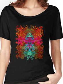 The Purfled Acid Pole Women's Relaxed Fit T-Shirt