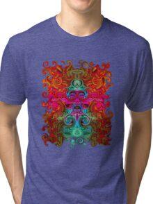 The Purfled Acid Pole Tri-blend T-Shirt