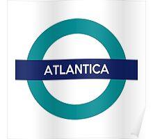 Atlantica Line Poster