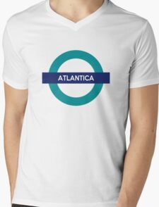 Atlantica Line Mens V-Neck T-Shirt