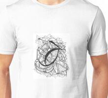 King's Eye Hand Drawn Zen Design Unisex T-Shirt