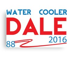 Water Cooler Dale 2016 Canvas Print