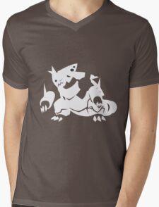 Mega Aggron Mens V-Neck T-Shirt