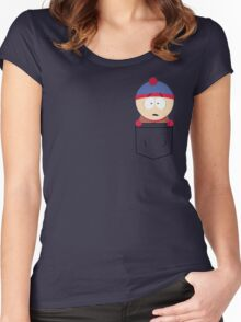 Pocket Stan Women's Fitted Scoop T-Shirt