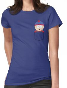 Pocket Stan Womens Fitted T-Shirt