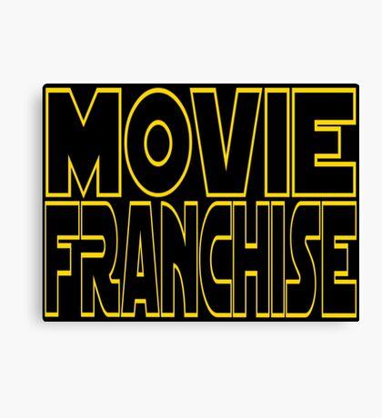 Movie Franchise Canvas Print