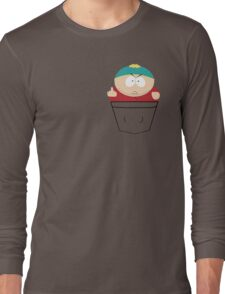 Pocket Cartman Long Sleeve T-Shirt