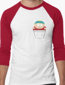 Pocket Cartman Men's Baseball ¾ T-Shirt