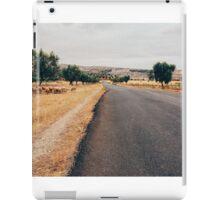 Herd of Sheep Walking Towards Fez (Morocco) iPad Case/Skin