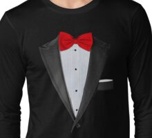 Realistic Tuxedo Shirt Long Sleeve T-Shirt