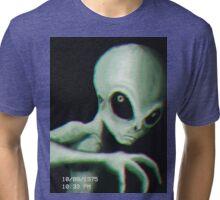Alien Sighting Tri-blend T-Shirt