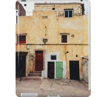 Old Yellow House Facade iPad Case/Skin