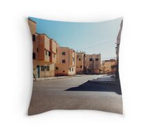 Buildings in Small Moroccan Town Throw Pillow