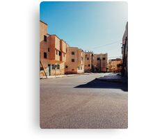 Buildings in Small Moroccan Town Canvas Print