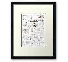 Cover, Contain, COMPOST- 3 of 3 Framed Print