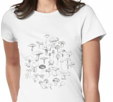 The Mushroom Gang Womens Fitted T-Shirt