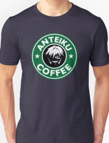 Drink coffee, eat human. Unisex T-Shirt