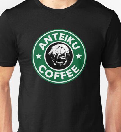 Drink coffee, eat human. Unisex T-Shirt