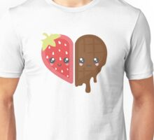 Strawberry & Chocolate Unisex T-Shirt
