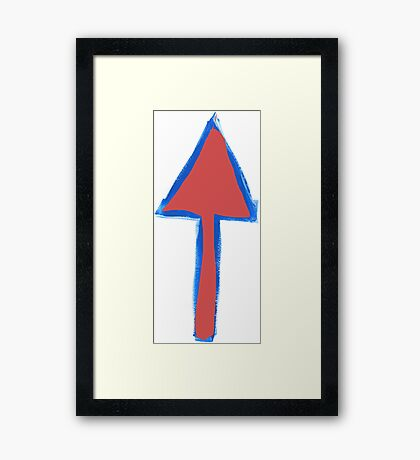 Arrows Before Bullets Framed Print