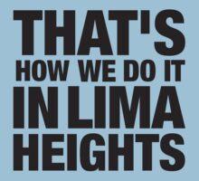 Lima Heights - Black Kids Tee